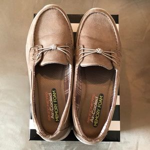 Skechers Air Cooled Memory foam loafers. Like new